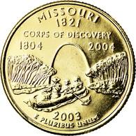 Monnaie, États-Unis, Missouri, Quarter, 2003, U.S. Mint, Denver, Golden, SUP+ - Federal Issues