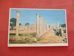 Marble Forum  Salamis  Has Stamp & Cancel   Cyprus   Ref  3476 - Cyprus
