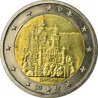 République Fédérale Allemande, 2 Euro, BAYERN, 2012, SUP, Bi-Metallic, KM:305 - Germany
