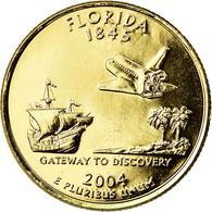 Monnaie, États-Unis, Florida, Quarter, 2004, U.S. Mint, Denver, Golden, SUP+ - Federal Issues