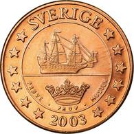 Suède, Fantasy Euro Patterns, 5 Euro Cent, 2003, SUP, Cuivre, KM:Pn3 - EURO