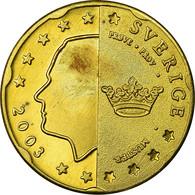Suède, Fantasy Euro Patterns, 20 Euro Cent, 2003, SUP, Laiton, KM:Pn5 - EURO