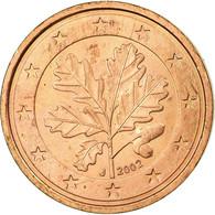 République Fédérale Allemande, 2 Euro Cent, 2002, TTB, Copper Plated Steel - Germany