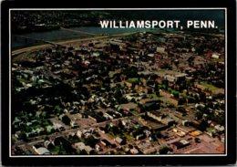 Pennsylvania Williamsport Aerial View 1986 - United States