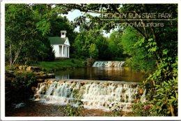 Pennsylvania Pocono Mountains Hickory Run STate Park The Falls 1996 - United States