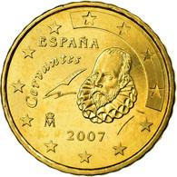 Espagne, 10 Euro Cent, 2007, SUP, Laiton, KM:1070 - Spain