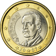Espagne, Euro, 2007, SUP, Bi-Metallic, KM:1073 - Spain