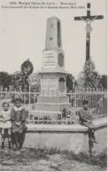 MARIGNE - MONUMENT COMMEMORATIF DES SOLDATS DE 14-18 - BELLE ANIMATION - VERS 1900 - Autres Communes