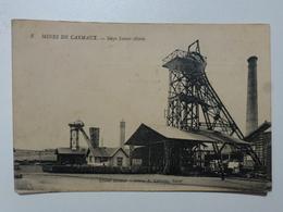 81 CARMAUX  Carte En état Concours - Mines De Carmaux - Siège Sainte-Marie  DEN830 - Carmaux