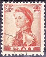 FIJI 1962QEII 2.5d Orange-BrownSG302 FU - Fiji (...-1970)