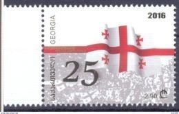 2016. Georgia, 25y Of Independence, 1v, Mint/** - Georgië