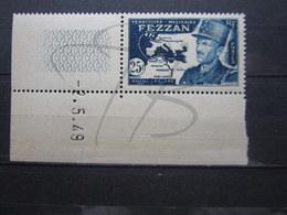 VEND BEAU TIMBRE DU FEZZAN N° 52 + 2 BDF + CD , XX !!! - Fezzan (1943-1951)