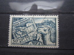 VEND BEAU TIMBRE DU FEZZAN N° 42 , XX !!! - Fezzan (1943-1951)