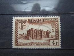 VEND BEAU TIMBRE DU FEZZAN N° 45 , XX !!! - Fezzan (1943-1951)