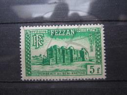 VEND BEAU TIMBRE DU FEZZAN N° 46 , XX !!! - Fezzan (1943-1951)