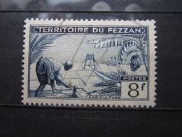 VEND BEAU TIMBRE DU FEZZAN N° 61 , XX !!! - Fezzan (1943-1951)