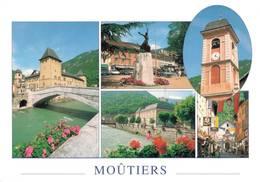 Moutiers Au Fils De L'isere La Porte Des Trois Vallées 1999  CPM Ou CPSM - Moutiers