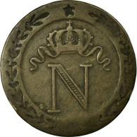 Monnaie, France, Napoléon I, 10 Centimes, 1808, Nantes, TB, Billon - France