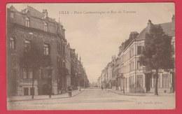 Lille - Place Cormontaigne Et Rue De Turenne - 1938 ( Voir Verso ) - Lille