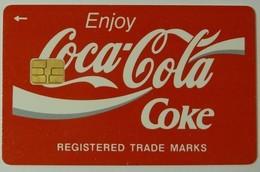 BELARUS - Chip - 200 Units - Coca Cola - 2000ex - Used - Wit-Rusland