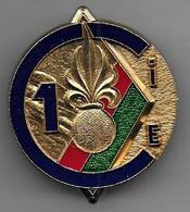 Légion - 4e REI  1re Compagnie - Insigne Delsart Matriculé 43 - Au Dos Camerone 1980 - Armée De Terre