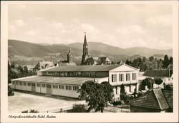 Ansichtskarte Bühl (Baden) Obstgroßmarkthalle - Stadt 1966 - Buehl