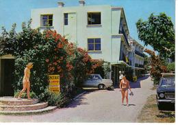 13 La Ciotat N°1 Motel Résidence Camping St Jean Propr R. Fontebride Epicerie Ford Cortina Car Femmes Maillot De Bain - La Ciotat