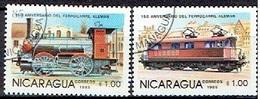 NICARAGUA # FROM 1985 STAMPWORLD 2645-46 - Nicaragua