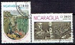 NICARAGUA # FROM 1985 STAMPWORLD 2652-53 - Nicaragua