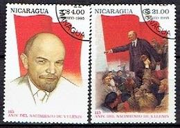 NICARAGUA # FROM 1985 STAMPWORLD 2660-61 - Nicaragua