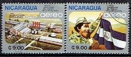 NICARAGUA # FROM 1985 STAMPWORLD 2663-64 - Nicaragua
