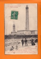 "GATTEVILLE  Manche  Le Phare     CPA  1916  ANIMEE   Num 189 "" La Basse Normandie Pittoresque "" - France"