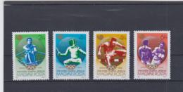 Hungary  1988 Seoul Olympic Games 4 Stamps MNH/** (H55) - Summer 1988: Seoul