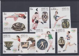 Laos 1988 Seoul Olympic Games Seven Stamps MNH/** (H55) - Verano 1988: Seúl