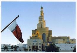 Qatar Scenes, Modern Doha, Qatar Islamic Cultural Center, Flags - Qatar
