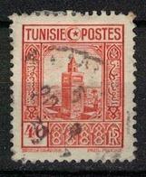 TUNISIE       N°  YVERT     170   OBLITERE       ( O   2/17 ) - Usados