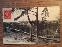 CPA, USSEL Poétique, Corrèze Pittoresque,19, écrite En 1916, Timbre - Ussel