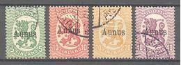 Aunus: Yvert N° 1/4; Cote 80.00€; Beau - 1919 Finnische Besatzung