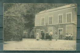08 - CHARLEVILLE - Etablissement Du Barrage (Edition Alberty) - ANIMATION - Charleville