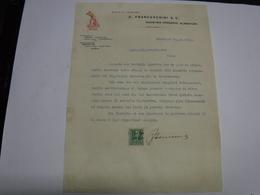 SESTRI LEVANTE  -- GENOVA  --  LAVORAZIONE  POMODORO -- G. FRANCESCHINI & C. --  CONSERVE ALIMENTARI - Italie