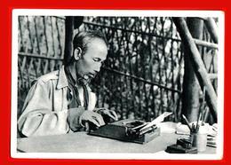 Vietnam Machine à écrire Vietnamienne Leader Ho Chi Minh Travail Étranger - Vietnam