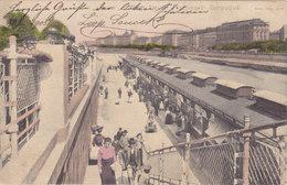 Wien: Donaukai - Neuer Fischmarkt Donaukanal 1905 !!! - Zonder Classificatie