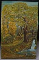 PDGL. 34. HST Peinture D'un Sous Bois Et D'une Source De Loubet ? - Olieverf