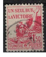 TUNISIE       N°  YVERT     244  OBLITERE       ( O   2/21 ) - Oblitérés
