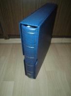 Leuchtturm Ringbinder + Kassette DE KA Excellent Blau 13 Ringe 321241 (1958) - Alben Leer