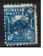 TUNISIE       N°  YVERT     257  OBLITERE       ( O   2/22 ) - Usados