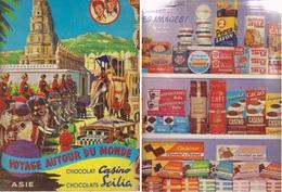 Album Images Voyage Autour Du Monde: ASIE. Collector CASINO. - Boeken, Tijdschriften, Stripverhalen