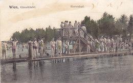 Wien 22: Gänsehäufel - Herrenbad 1914 !!! - Zonder Classificatie