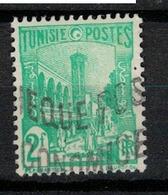 TUNISIE       N°  YVERT     281 A   OBLITERE       ( O   2/23 ) - Oblitérés