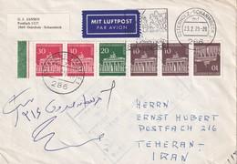 BERLIN 1979 PLI AERIEN DE OSTERHOLZ-SCHARMBECK POUR TEHERAN - [5] Berlijn